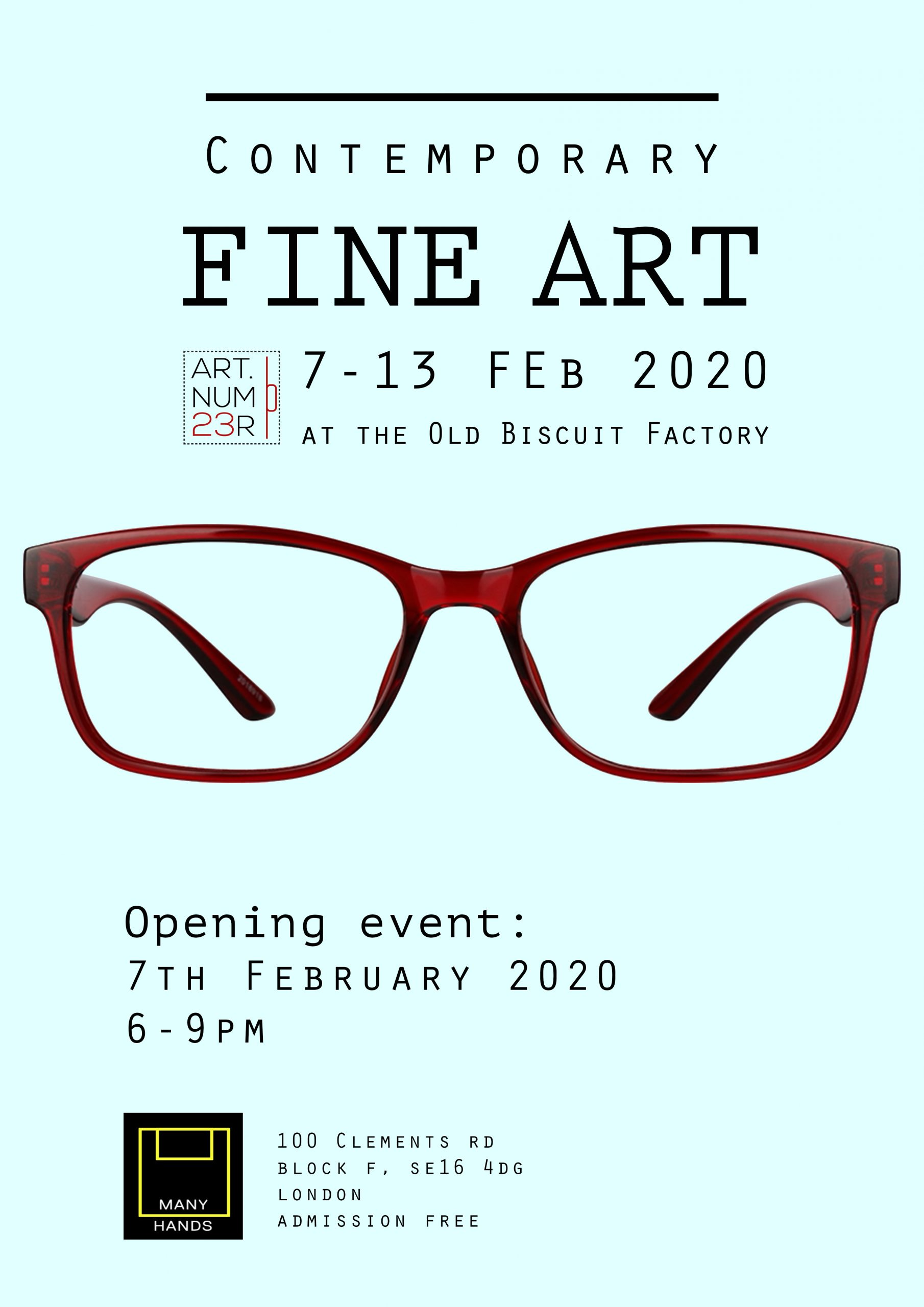 Contemporary Fine Art exhibition at The Old Biscuit Factory